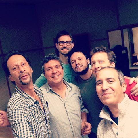 Med Afonso Corrêa, Glauber Seixas og Francesco Calì